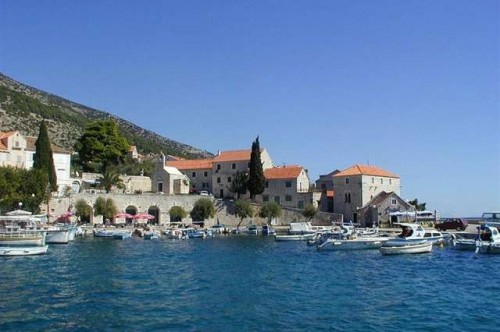 Brac's landscape Croatia