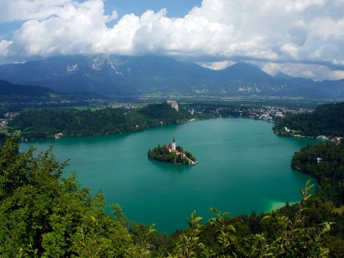 Bled Slovenia Tourism Lake Relaxation