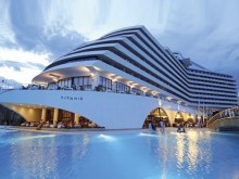 Antalya & the luxury Titanic Hotel