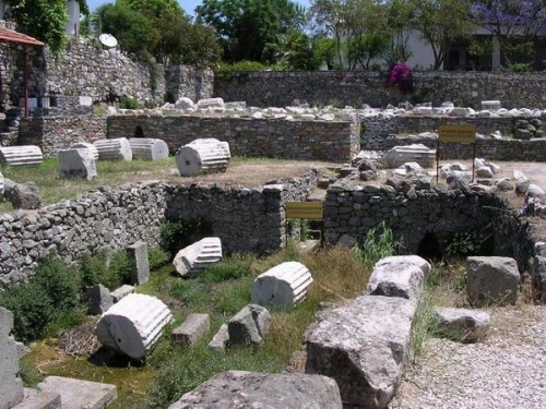 Mausoleum at Halicarnassus Bodrum Turkey