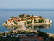 Sveti Stefan: a luxury destination