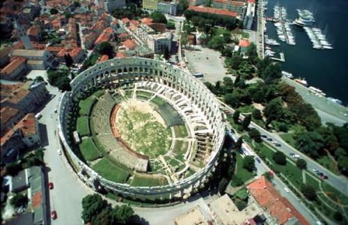 Pula Amphitheater Istria Croatia