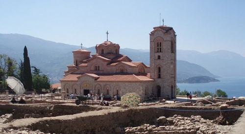 Monastery of St. Panteleimon in Ohrid Macedonia