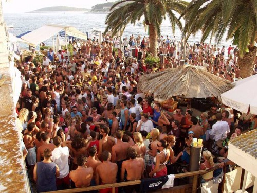 Clubbing Hvar Croatia