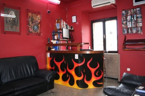Tattoo shop in Croatia
