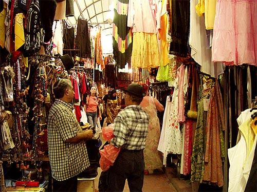 Jaffa flea market in Tel Aviv
