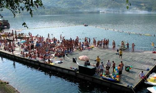 Perućac Lake Serbia