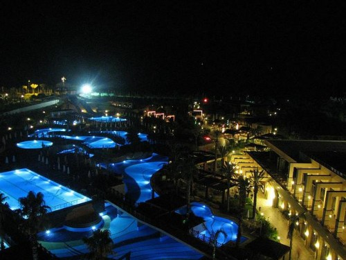 Antalya by night Turkey