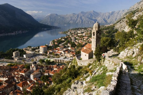 Panorama of Kotor