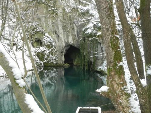 Krupajsko vrelo's cave