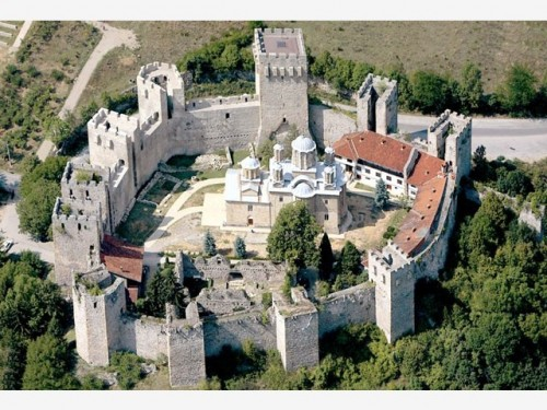 The monastery of Manasija